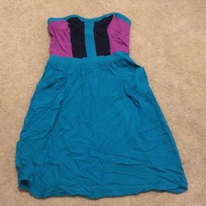 Women's strapless dress